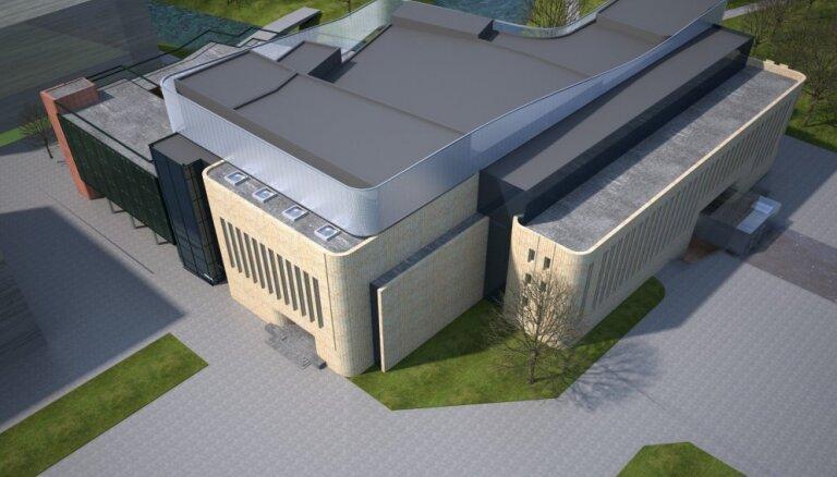 Foto: Rīga par 40 miljoniem vēlas pārbūvēt Kongresu namu