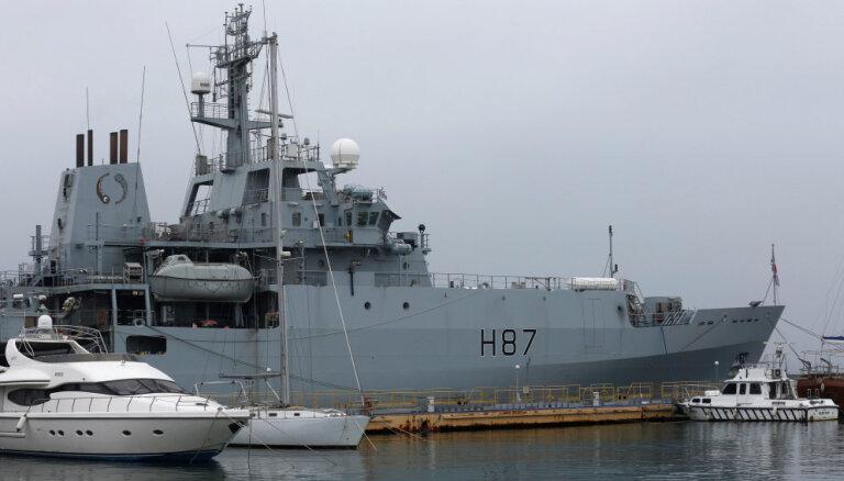 Британский корабль прибыл в Одессу; министр обороны назвал это сигналом Путину