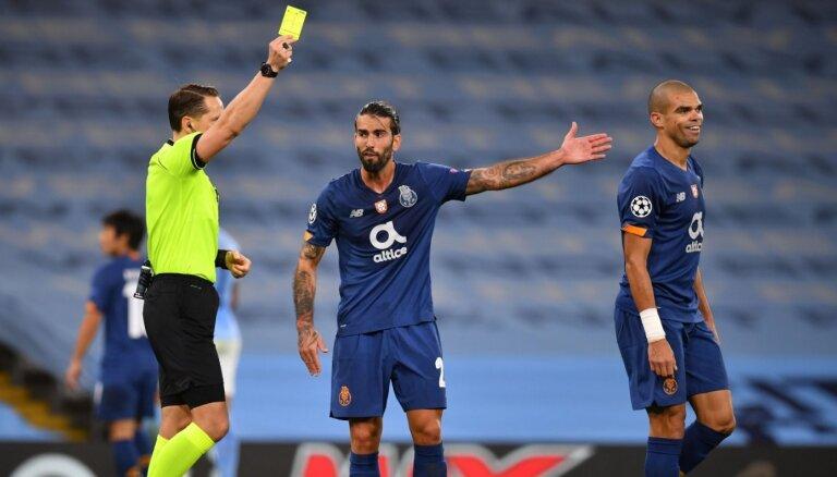 'Porto' treneris sašutis par Treimaņa vājo tiesāšanas līmeni
