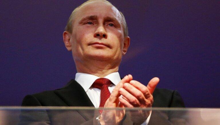 OCCRP atzinuši Putinu par gada korumpantu