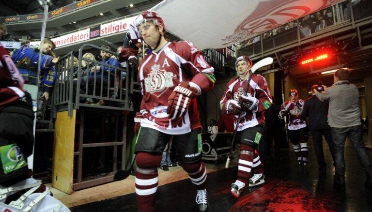Rīgas 'Dinamo' izbraukumā dodas 27 spēlētāju sastāvā