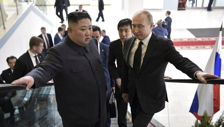 Путин рассказал, о чем говорил с Ким Чен Ыном