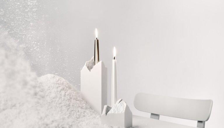 Materiāla pārpalikumus no vannu ražošanas izmanto dizaina preču izgatavošanā