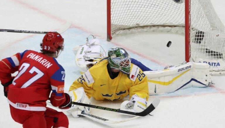 ВИДЕО, ФОТО: Исторический овертайм и победа сборной России на старте ЧМ
