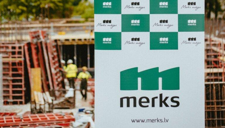 Совет по конкуренции за сговор оштрафовал стройкомпанию Merks на 2,7 млн евро