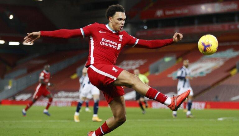'Liverpool' nenotur pārsvaru un zaudē punktus pret 'Albion'