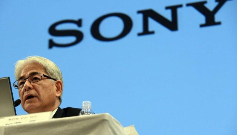 'Sony' gūst piecos gados pirmo biznesa gada peļņu