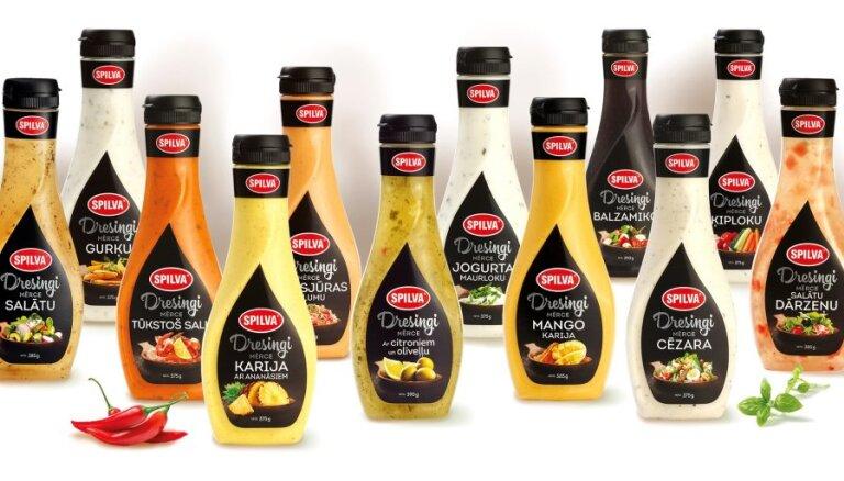 Spilva инвестировала более 800 тыс евро в латвийское производство салатных заправок