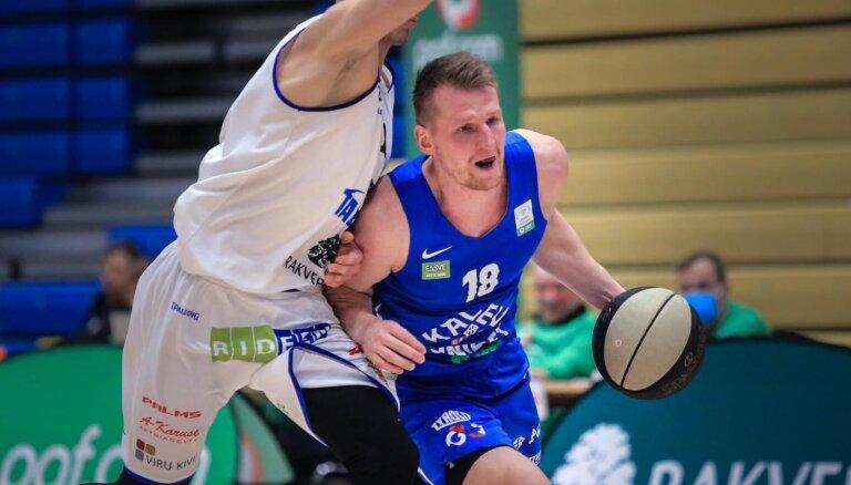 Kaufmanis: Igaunijas basketbola klubu līmenis noteikti ir kāpis