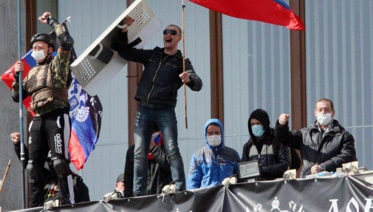 Донецкие сепаратисты захватили здание областной телерадиокомпании
