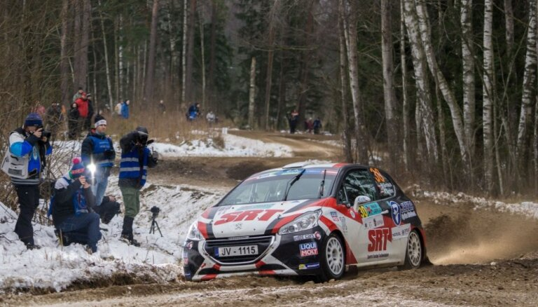 Sirmacis/Šimins uzvar 'Rally Liepāja' kvalifikācijā Eiropas čempionāta junioru ieskaitē