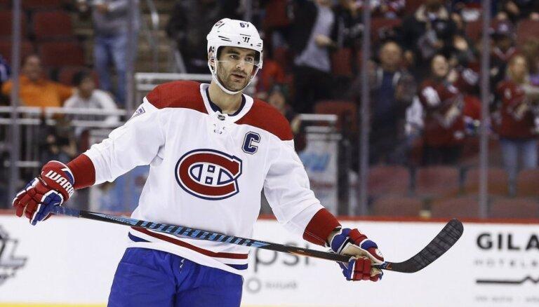 'Golden Knights' maiņas darījumā iegūst 'Canadiens' līderi Pačioreti