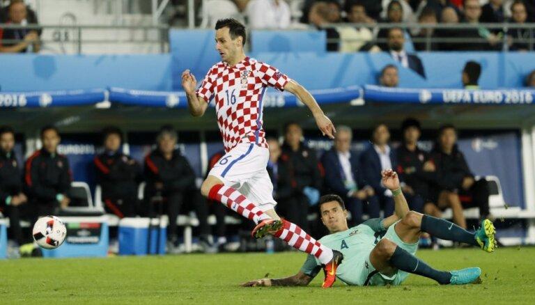Футболист сборной Хорватии отчислен из состава за отказ выйти на замену
