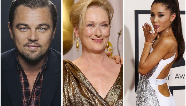 Dikaprio, Strīpa, Grande un Šalamē: nosaukta filmas 'Don't Look Up' zvaigžņu plejāde