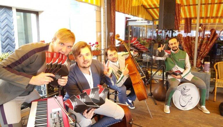 Noskaties! 'Dagamba' laiž klajā jaunu albumu un videoklipu skaņdarbam 'Prokofiev the Knight Rider'