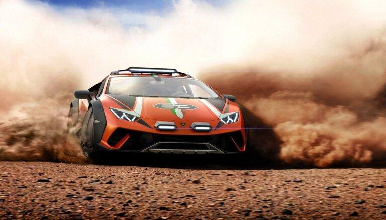 'Lamborghini' apvienojis 'Huracan' superauto ar 'Urus' apvidnieku