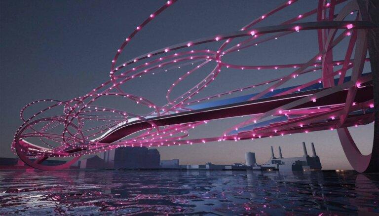 ФОТО: Самые необычные дизайны будущего лондонского моста через Темзу