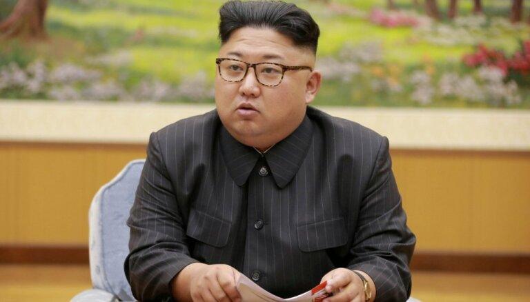 Ziemeļkorejai jāgatavojas gan dialogam, gan konfrontācijai ar ASV, paziņo Kims