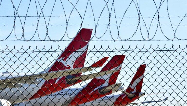 'Qantas' prasīs starptautisko reisu pasažieriem vakcinēties pret Covid-19