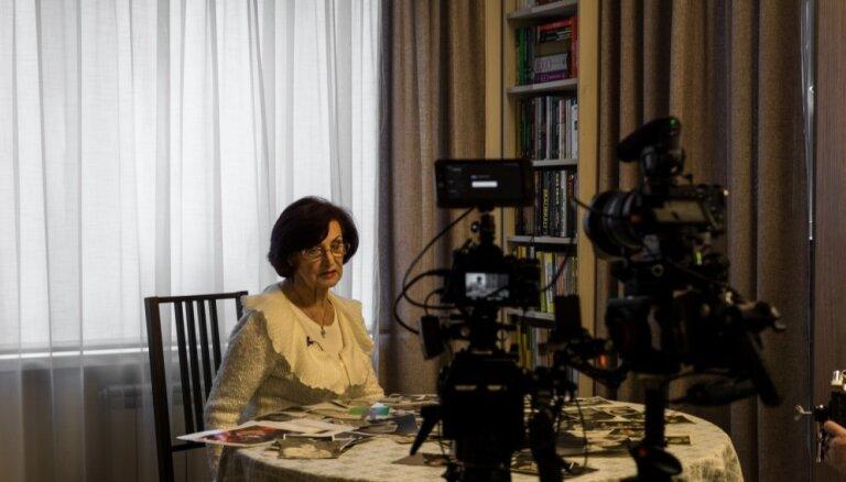 Olgas Dreģes 80. jubilejā demonstrēs aktrisei veltītu dokumentālo filmu