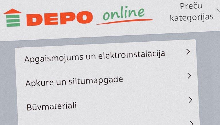 'Depo' izveidojis interneta veikalu