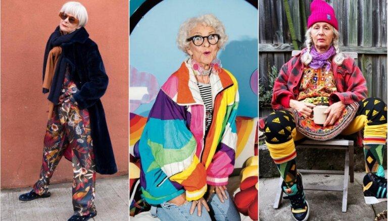 """Возраст — только цифра в паспорте: шесть энергичных и стильных бабушек в """"Instagram"""""""