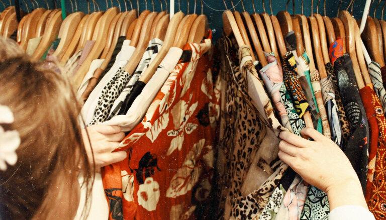 Ziedojumu urna nav miskaste: lietotā apģērba ceļš