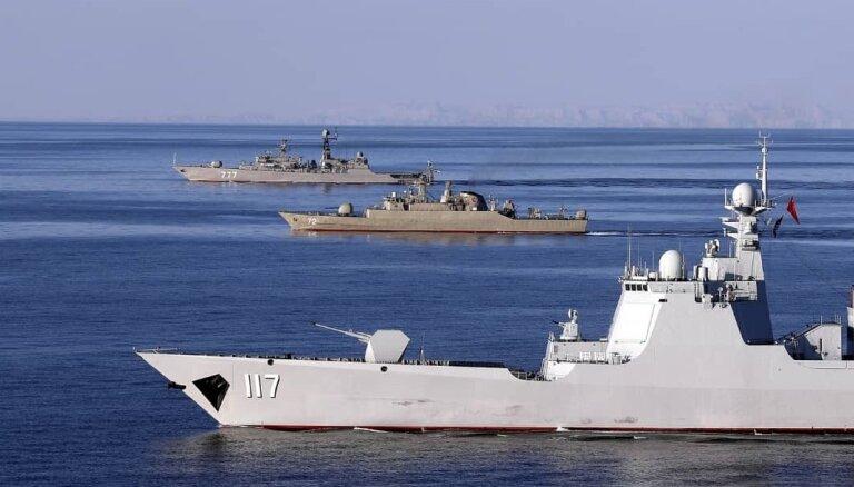 Pandēmijas aizsegā Ķīna pastiprina militāro ietekmi Dienvidķīnas jūrā