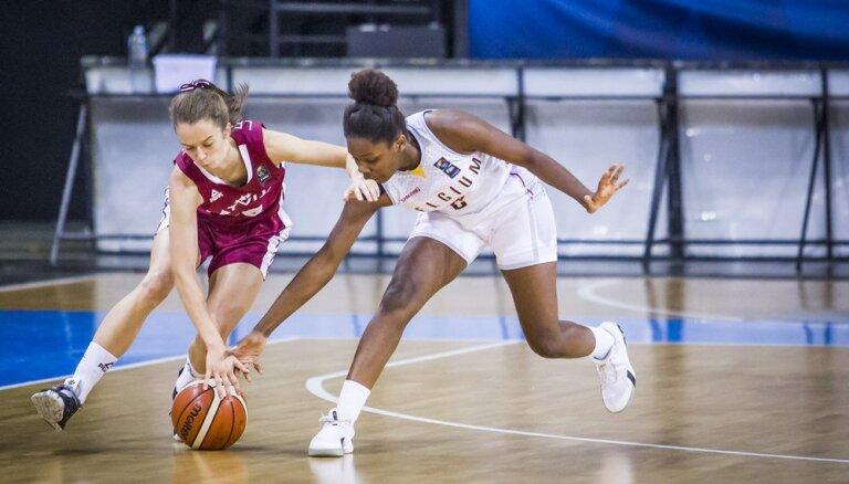 Latvijas U-16 basketbolistes Eiropas čempionāta mačā piekāpjas beļģietēm