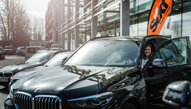 Auto noma 'Sixt' papildina autoparku ar jauniem BMW X5 un BMW 3. sērijas auto