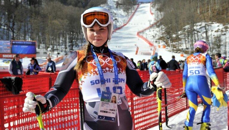 Kalnu slēpotāja Āboltiņa 23 gadu vecumā noslēdz karjeru