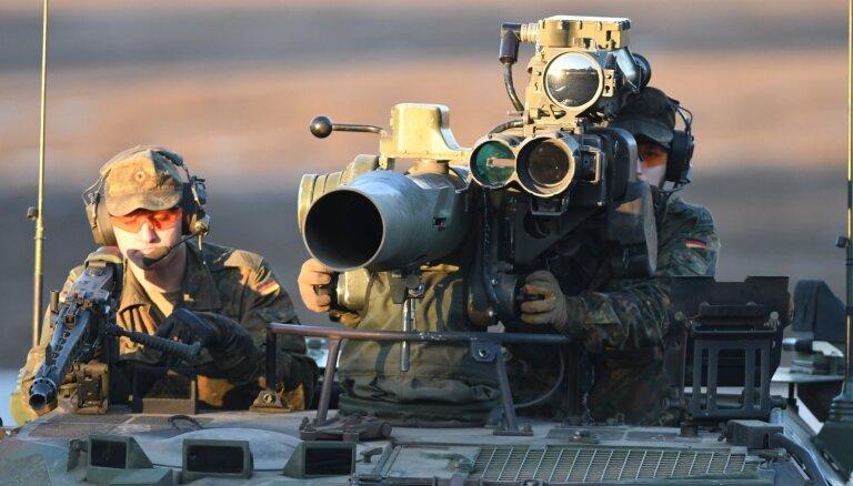 Vācija aptur militāro apmācību misiju Irākā