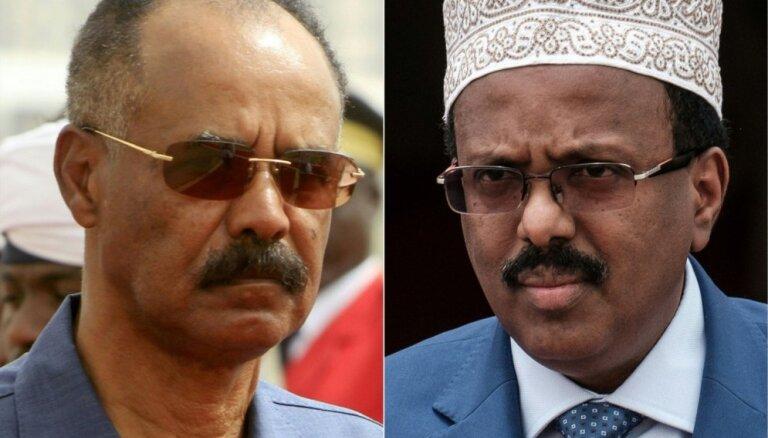 Somālija un Eritreja atjaunos diplomātiskās attiecības