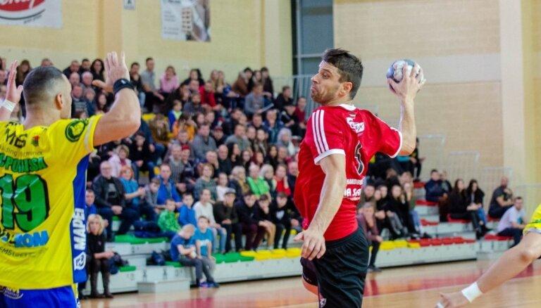 Handbolists Veršakovs: 'Tenax' komanda uz pārtraukto sezonu nereaģēja mierīgi