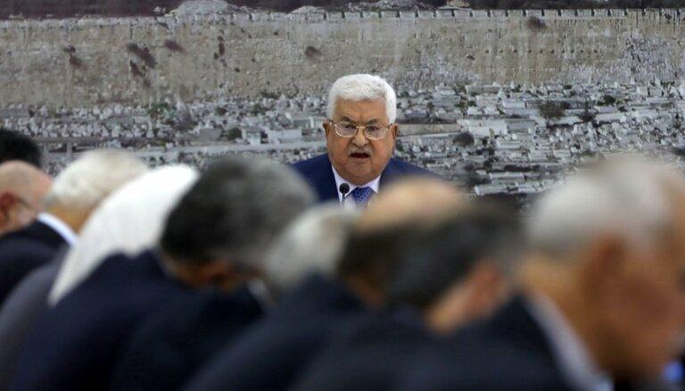 Abass izvirza savu sabiedroto Muhamedu Štajehu palestīniešu pašpārvaldes premjerministra amatam