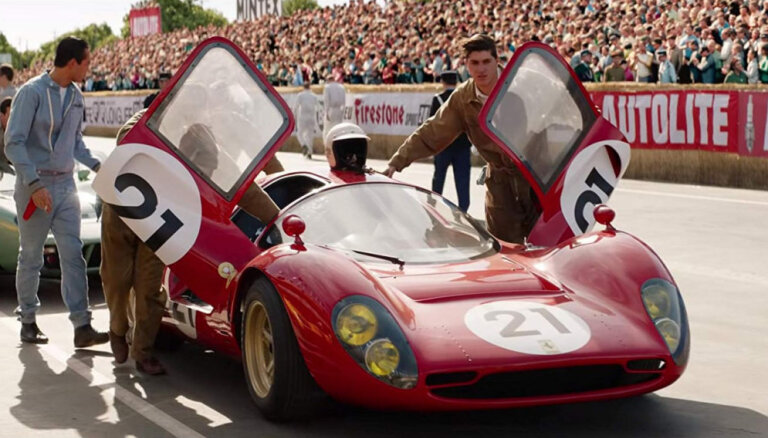 Video: 'Ātruma cilts' pēta 'Ford' un 'Ferrari' leģendāro cīņu Lemānā