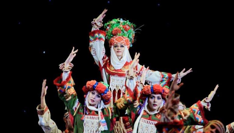 Концерт Государственного академического ансамбля танца Беларуси под руководством В.Дудкевича