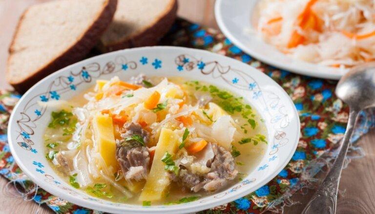 Главный суп русской кухни: готовим щи из свежей и кислой капусты