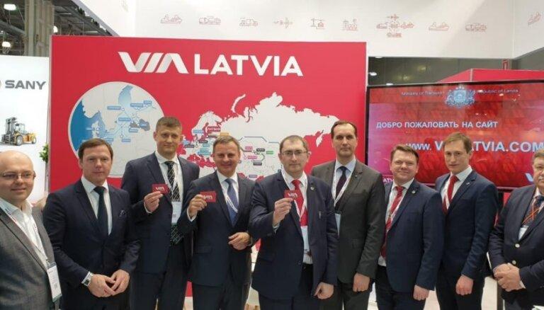 Izstādē 'TransRussia 2019' Latvijas transporta nozare prezentē sevi ar vienotu zīmolu