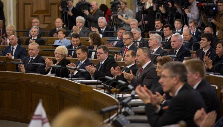 12. Saeimas deputāti kompensācijās kopumā saņēmuši 667 682 eiro pēc nodokļu nomaksas