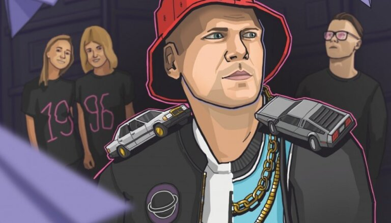 Hiphopa veterāns Ozols dosies turnejā 'Laika kapsula'