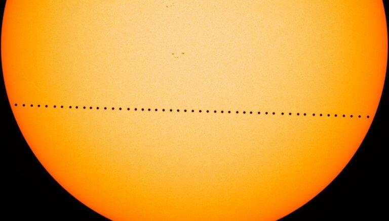 Lielzeltiņu observatorijā ikviens varēs vērot, kā Merkurs šķērso Saules disku