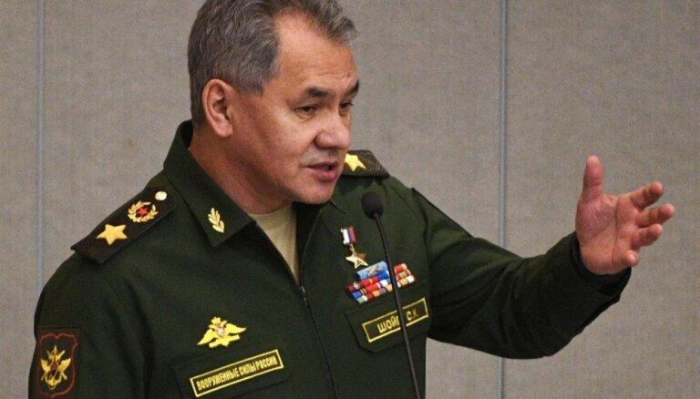 Министр обороны России заявил об угрозе новой гонки вооружений