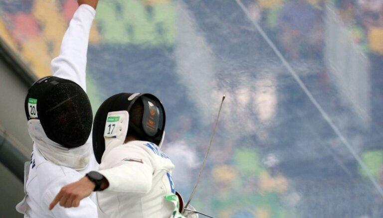 Modernās pieccīņas sportists Švecovs iegūst augsto astoto vietu PK posmā