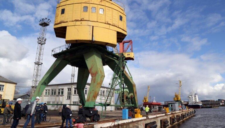 Izsolīs 'Rīgas kuģu būvētavai' piederošo nekustamo īpašumu
