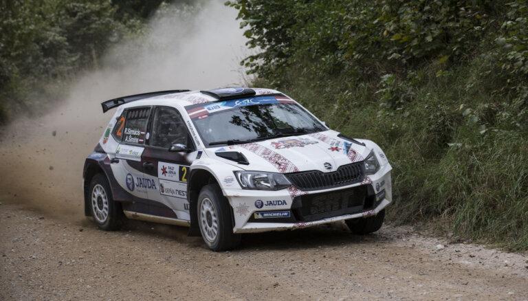 'Rally Talsi' dalībnieku pulkā četri čempioni – Rovanpera, Vorobjovs, Šlepiks un Sirmacis