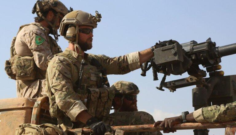 No Sīrijas atvilktie ASV karavīri tiks izvietoti Irākas rietumos