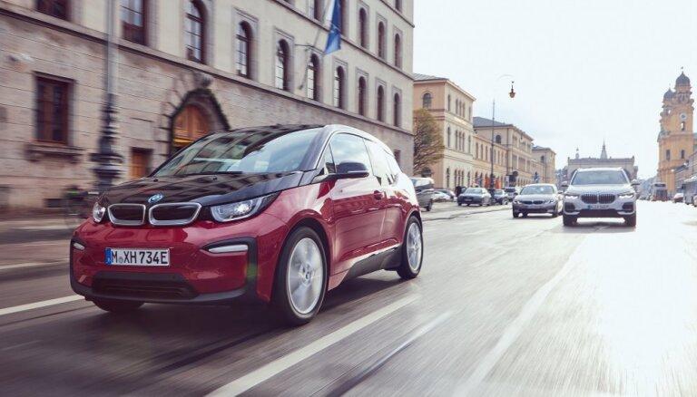 BMW pērn kļuvis par Eiropas līderi elektrisko auto segmentā