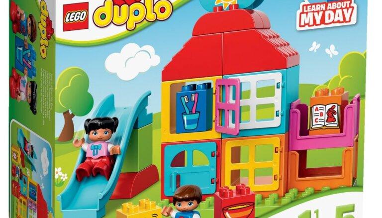 Konkurss par aizraujošo 'Lego Duplo' komplektu 'Mans pirmais rotaļu namiņš' noslēdzies