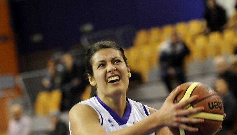 Par Latvijas un Igaunijas apvienotā čempionāta janvāra vērtīgāko basketbolisti nosaukta Krastiņa no 'TTT Rīga'